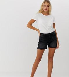 Черные джинсовые шорты Esprit - Черный