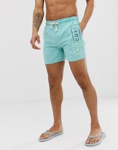 Пляжные шорты Rip Curl volley core - Синий