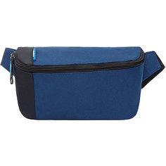 Поясная сумка Grizzly малая, синяя