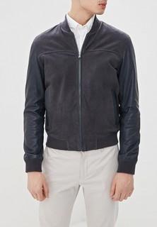 Куртка кожаная Hackett London