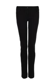 Черные джинсы прямого кроя Dirk Bikkembergs