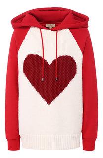 Хлопковый пуловер Burberry