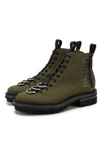 Текстильные ботинки Dsquared2