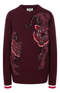 Шерстяной пуловер Kenzo