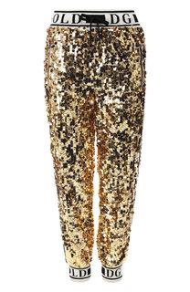 Джоггеры с пайетками Dolce & Gabbana