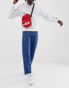 Красная сумка с логотипом для авиапутешествий Fila London - Красный