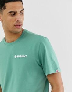 Светло-зеленая футболка с логотипом Element Blazin - Зеленый