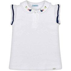 Футболка-поло Mayoral для девочки