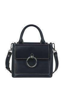 Синяя сумка с кольцом Claudie Pierlot