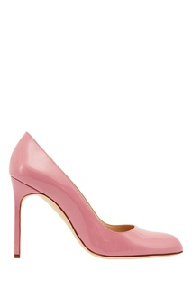 Розовые туфли BBR Manolo Blahnik