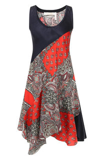 Платье с принтом Chloé