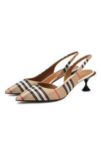 Текстильные туфли Burberry