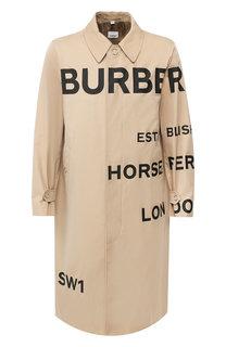 Хлопковый плащ Burberry