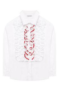 Хлопковая блузка Dolce & Gabbana