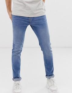 Синие джинсы скинни New Look - Синий