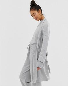 Легкий серый халат Loungeable - Серый