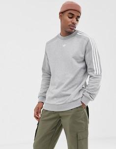 Серый свитшот adidas Originals - Серый