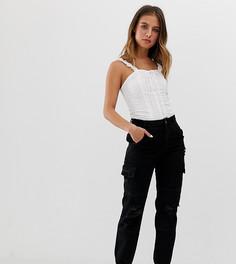 Черные джоггеры с карманами карго New Look - Черный