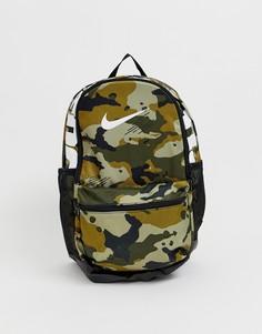 Камуфляжный рюкзак Nike Just Do It - Зеленый