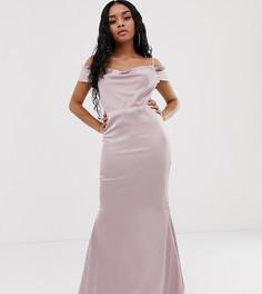 Розовое платье макси Missguided Petite - Розовый