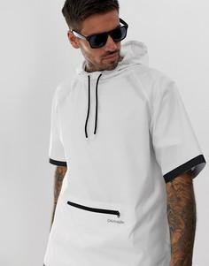 Белая ветровка с капюшоном и герметичными швами Calvin Klein Neo Plus - Белый