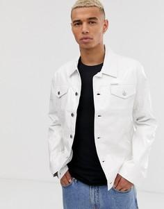 Виниловая куртка Calvin Klein Jeans - Белый