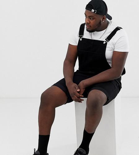 Черный комбинезон с шортами ASOS DESIGN Plus - Черный