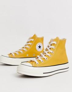 Желтые высокие кеды Converse - Chuck 70 (Sunflower - Желтый
