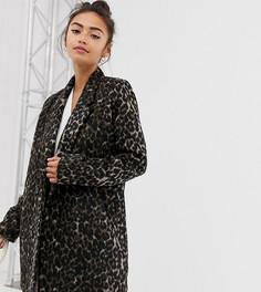 Пальто с леопардовым принтом Pimkie - Мульти