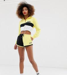 Комбинируемые шорты колор блок с логотипом сбоку Ellesse - Желтый