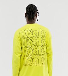 Футболка с длинными рукавами и логотипом Noak - Желтый
