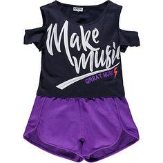 Комплект :футболка,шорты MEK для девочки