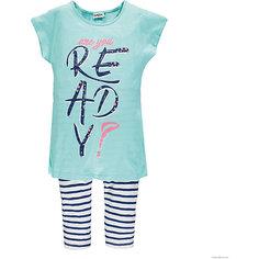 Комплект :футболка,леггинсы MEK для девочки