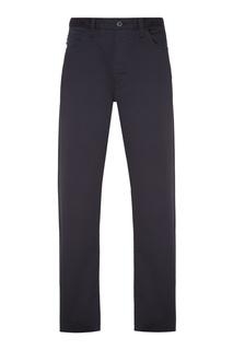 Темно-коричневые брюки Emporio Armani