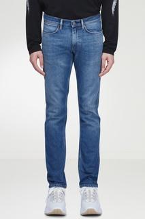 Фактурные голубые джинсы Acne Studios