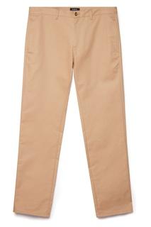 Бежевые брюки A.P.C.