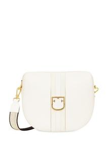 0ba680121914 Кожаная сумка Gioia с широким ремнем Furla