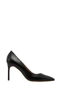 Черные лакированные туфли BB Manolo Blahnik