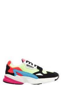 Разноцветные комбинированные кроссовки Falcon Adidas