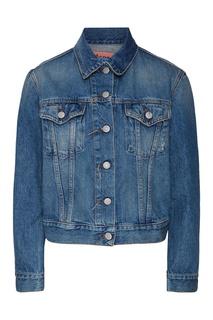 Синяя джинсовая куртка Acne Studios