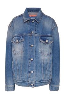 Серо-голубая джинсовая куртка Acne Studios