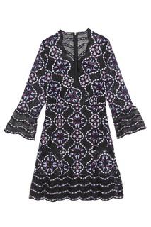 Ажурное платье с вышивкой Sandro