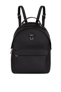 Черный рюкзак Favola из кожи Furla