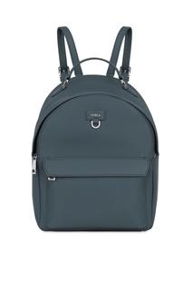 Серый рюкзак Favola из кожи Furla