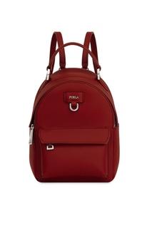 Бордовый рюкзак Favola из кожи Furla