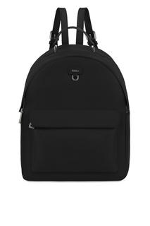 Черный кожаный рюкзак Favola Furla