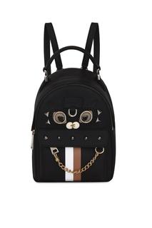 Черный рюкзак Favola Furla