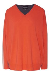 Красный пуловер Emporio Armani