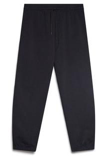 Черные брюки-джоггеры A.P.C.