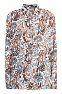 Рубашка с орнаментом пейсли Etro